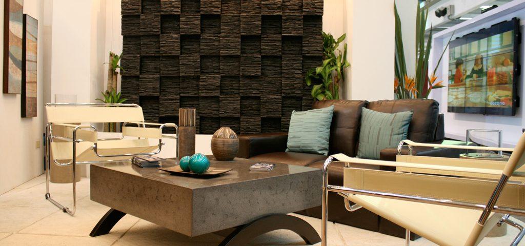 Decoracion de interiores con piedra beautiful tambin - Piedras para decoracion de interiores ...